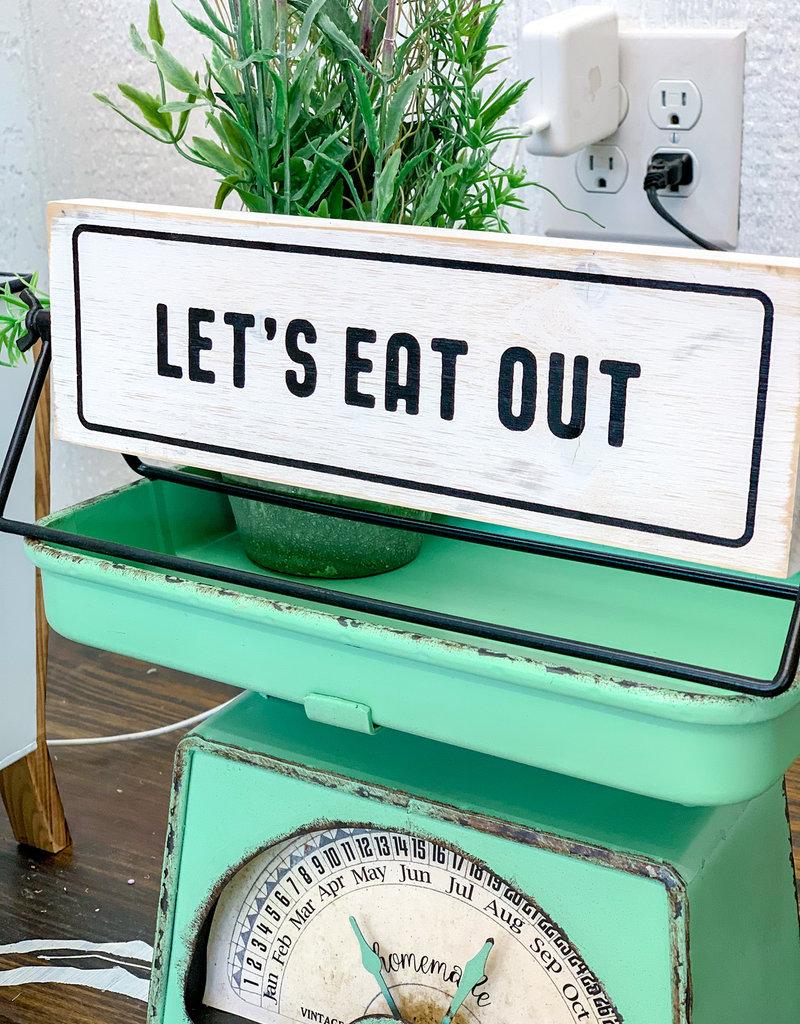 Supper Decision Decider Sign