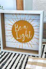 Be a Light Box Sign