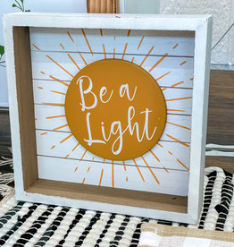 Be a Light Box Sign