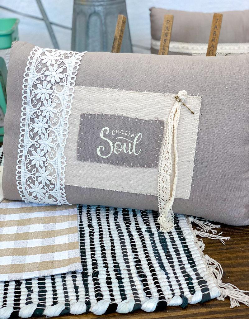 Gentle Soul Vintage Pillow