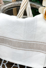 Taupe Stripped Dish Towel