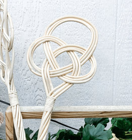 Hand Woven Rattan Rug Beater | Style 1