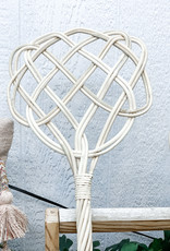 Hand Woven Rattan Rug Beater | Style 2