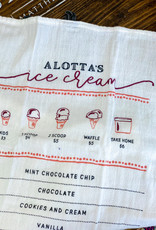 Ice Cream Cotton Tea Towel