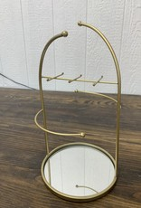 Tabletop Jewelry Stand w/ Mirror Base | Dome