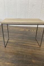 Wood & Metal Tabletop Riser | Tall Rectangle
