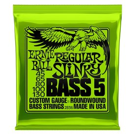 Ernie Ball Ernie Ball 2836 Regular Slinky 5-String Nickel Wound Electric Bass Strings