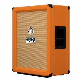 "Orange Orange Amps PPC212V Vertical 2x12"" Guitar Cabinet with Neo Creamback Speakers 120w"