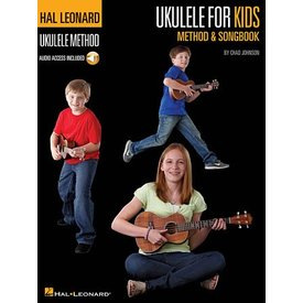 Hal Leonard Ukulele for Kids Method & Songbook Hal Leonard Ukulele Method