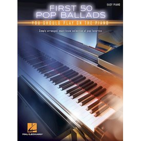 Hal Leonard First 50 Pop Ballads You Should Play on the Piano