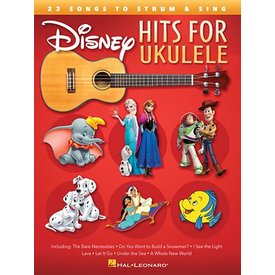 Hal Leonard Disney Hits for Ukulele 23 Songs to Strum & Sing