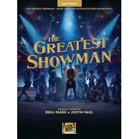 Hal Leonard The Greatest Showman Music from the Motion Picture Soundtrack Easy Piano