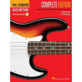 Hal Leonard Hal Leonard Bass Method – Complete Edition Books 1, 2 and 3 Bound Together in One Easy-to-Use Volume!
