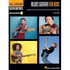 Hal Leonard Hal Leonard Blues Guitar for Kids – Hal Leonard Guitar Method A Beginner's Guide with Step-by-Step Instruction for Acoustic and Electric Guitar