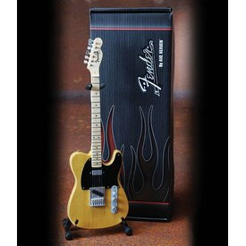 Axe Heaven Axe Heaven Fender™ Telecaster™ – Butterscotch Blonde Finish Officially Licensed Miniature Guitar Replica