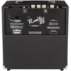 Fender Rumble 25  Bass Combo Amplifier 120V