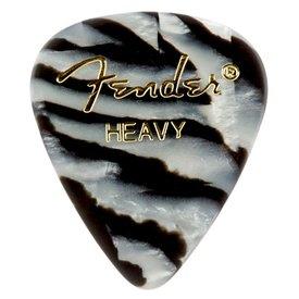 Fender Zebra, 351 Shape, Heavy (12) Guitar Picks