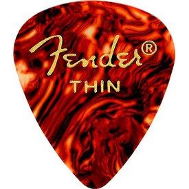Fender Classic Celluloid 351 Shape Picks Thin Tortoise Shell 12 Count