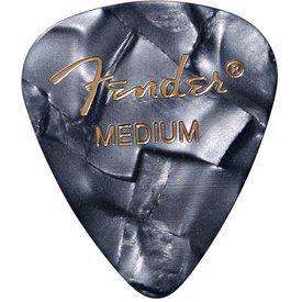 Fender Black Moto (12Pk) Medium Guitar Picks