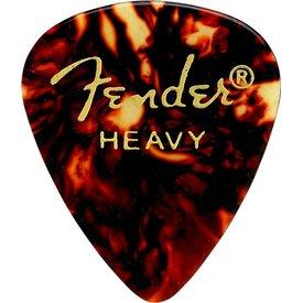 Fender Tortoise Shell, 351 Shape, Heavy (12) Guitar Picks