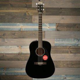 Fender CD-60S Dreadnought Acoustic Guitar  Black Walnut Fingerboard S/N 180506005