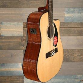 Fender CD-60SCE Dreadnought 12-string, Walnut Fingerboard, Natural S/N IPS180711152