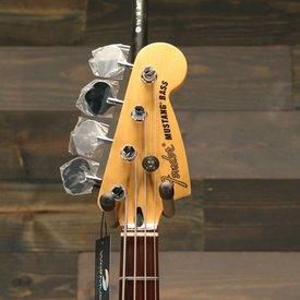 Fender Mustang Bass PJ, Pau Ferro Fingerboard, Torino Red S/N