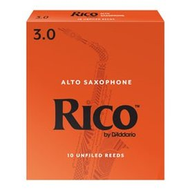 DAddario Woodwinds Rico by D'Addario - Alto Sax #2.5 - 3-pack