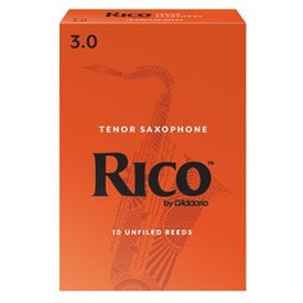 DAddario Woodwinds Rico by D'Addario - Tenor Sax #2 - 3-pack