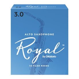 DAddario Woodwinds Royal by D'Addario - Alto Sax #2 - 3-pack