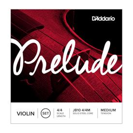 DAddario Orchestral D'Addario Prelude Violin String Set, 4/4 Scale, Medium Tension