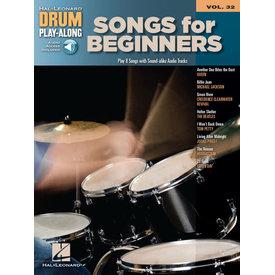 Hal Leonard Songs for Beginners Drum Play-Along Volume 32 Drum Play-Along