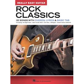 Hal Leonard Rock Classics – Really Easy Guitar Series 22 Songs with Chords, Lyrics & Basic Tab