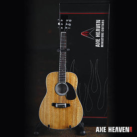 Axe Heaven Axe Heaven Natural Finish Acoustic Model Miniature Guitar Replica Collectible