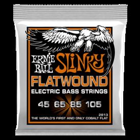 Ernie Ball Ernie Ball 2813 Hybrid Slinky Flatwound Electric Bass Strings 45-105