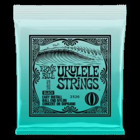 Ernie Ball Ernie Ball 2326 Concert/Soprano Nylon Ball End Ukulele Strings - Black