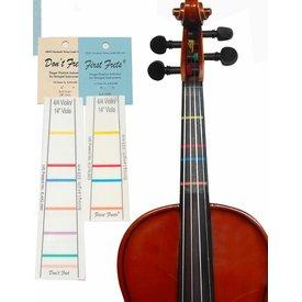 """DontFret First Fret 4/4 Violin / 14"""" Viola"""