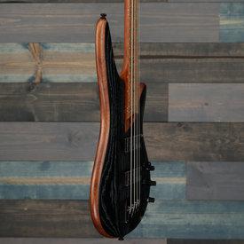 Ibanez Ibanez SR670SKF Electric Bass Guitar Silver Wave Black Flat