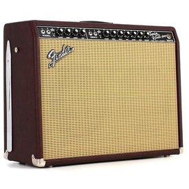 """Fender ' 65 Twin Reverb Neo 85-watt 2x12"""" Tube Combo Amp Wine Red B Stock"""