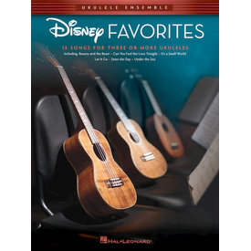 Hal Leonard Hal Leonard Disney Favorites Ukulele Ensembles Early Intermediate