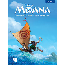 Hal Leonard Moana Music from the Motion Picture Soundtrack Ukulele