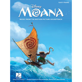 Hal Leonard Moana Music from the Motion Picture Soundtrack Piano