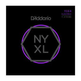 DAddario Fretted D'Addario NYXL Electric Guitar Medium 7 String