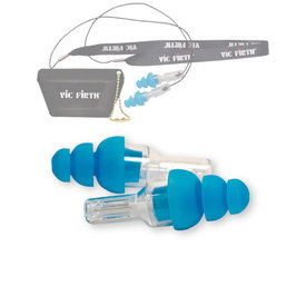 Vic Firth Vic Firth VICEARPLUG High-Fidelity Hearing Protection- Regular Size (BLUE)