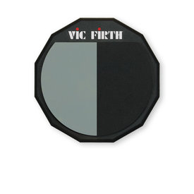 """Vic Firth Vic Firth PAD12H 12"""" Single Sided/Divided Practice Pad"""