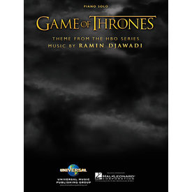 Hal Leonard Game of Thrones (Theme) (Theme from the HBO Series) Easy Piano