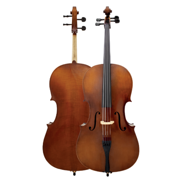 Maple Leaf Strings Lupin Cello - Newander Cello w/Bow & Case 4/4