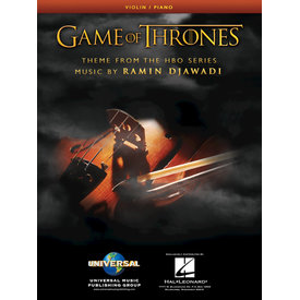 Hal Leonard Game of Thrones Theme Arranged for Violin & Piano