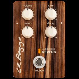 LR Baggs LR Baggs Align Series Reverb Acoustic Electric Guitar Effects Pedal