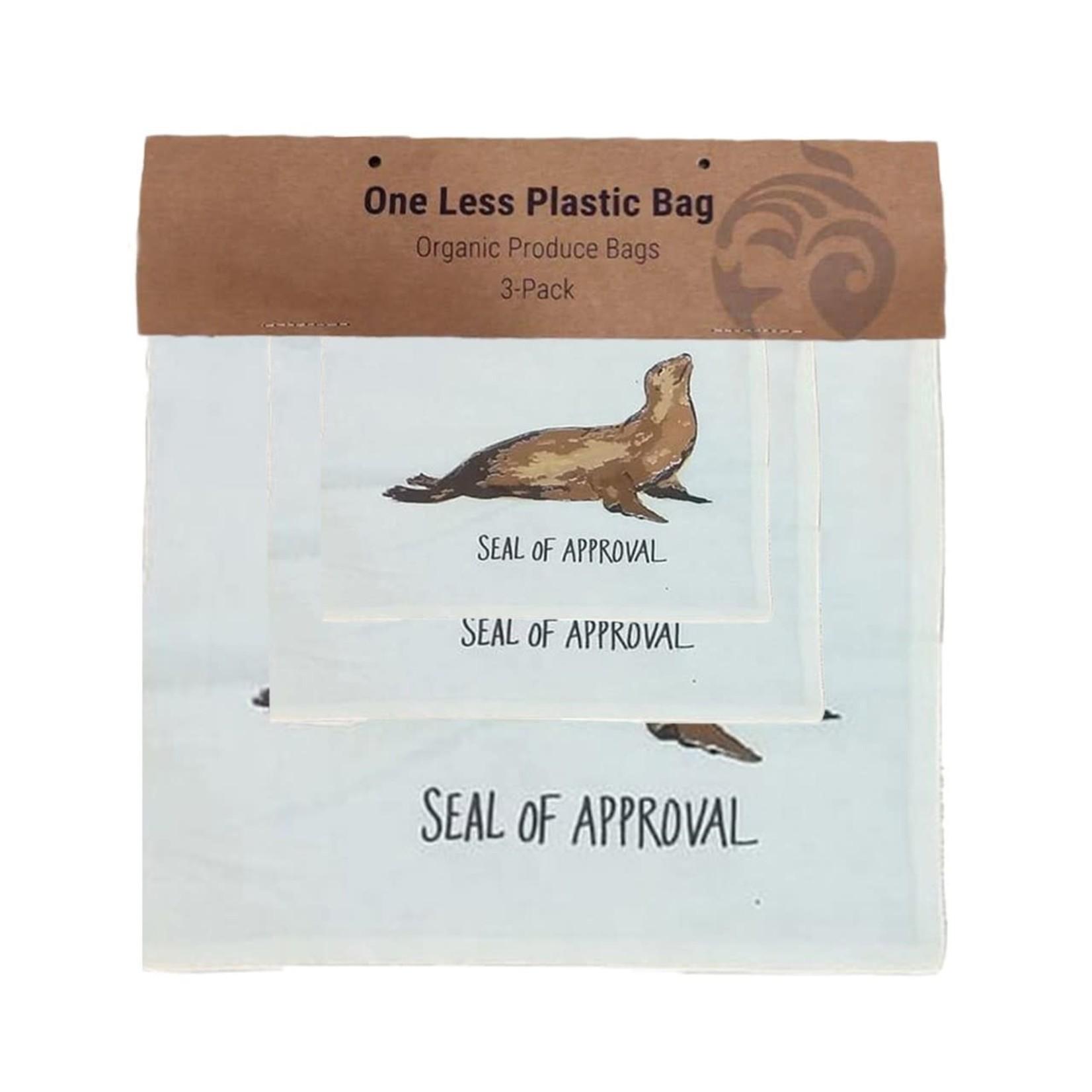 Ocean Wise Produce Bag Sea Lion 3pack